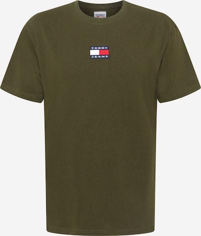 Tommy Jeans T-Shirt in marine / oliv / rot / weiß, Produktansicht