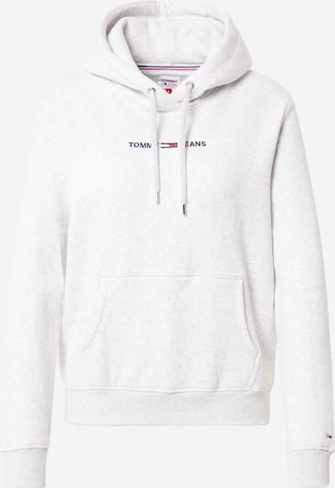 Tommy Jeans Sweatshirt in dunkelblau / hellgrau / rot / weiß, Produktansicht