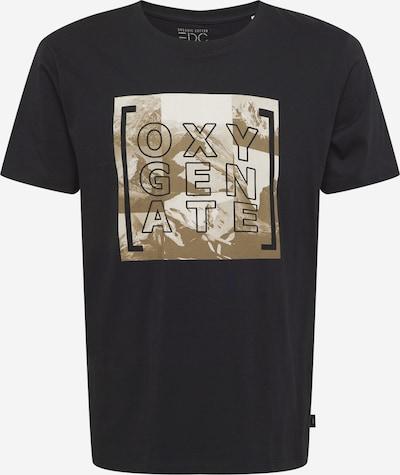 EDC BY ESPRIT Shirt in Khaki / Black / White, Item view