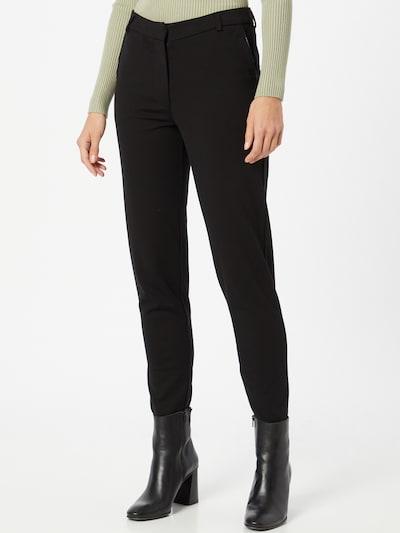 VILA Hose 'CLASS PIPING' in schwarz, Modelansicht