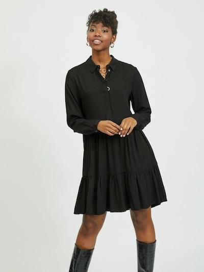 VILA Kleid 'Morose' in schwarz, Modelansicht