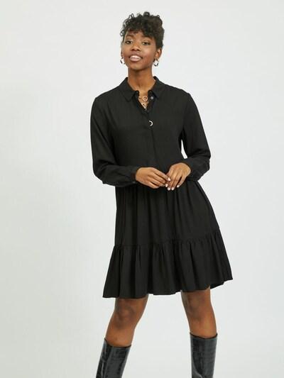 VILA Košeľové šaty 'Morose' - čierna, Model/-ka