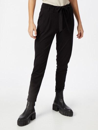 Klostuotos kelnės iš EDC BY ESPRIT , spalva - juoda, Modelio vaizdas