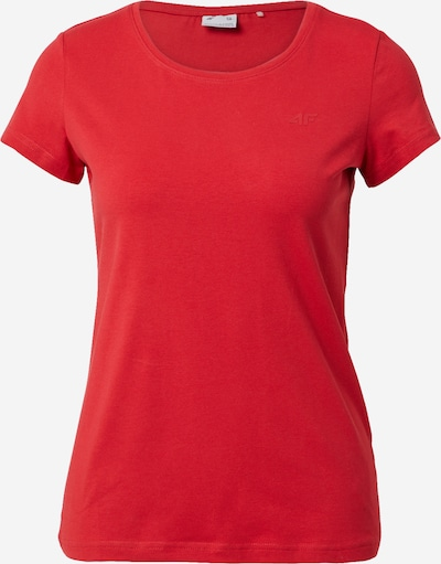 4F Functioneel shirt in de kleur Rood, Productweergave