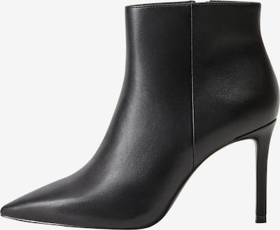 MANGO Enkellaarsjes in de kleur Zwart, Productweergave