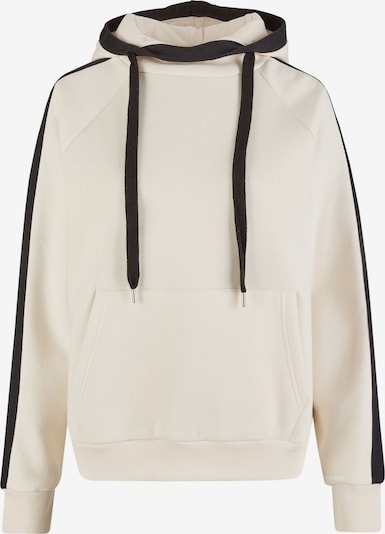 Vestino Kapuzen-Sweatshirt in beige / schwarz, Produktansicht