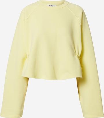 LeGer by Lena Gercke Sweatshirt 'Franca' in Yellow