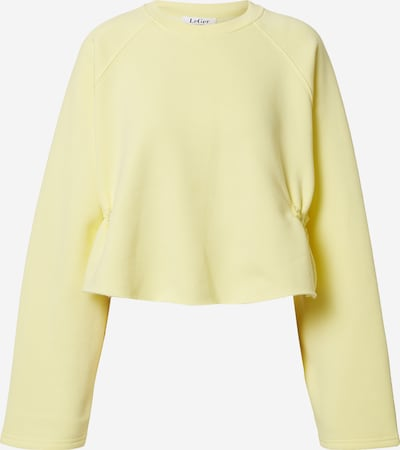 LeGer by Lena Gercke Sweatshirt 'Franca' in gelb, Produktansicht