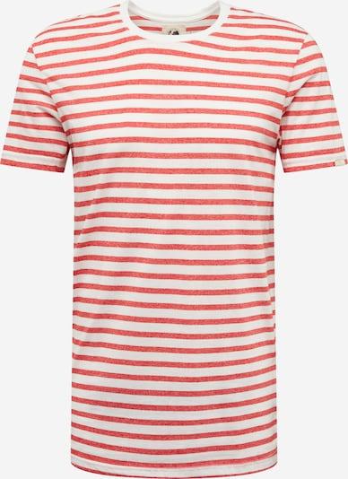 Ragwear Shirt 'PAUL' in rot / weiß, Produktansicht