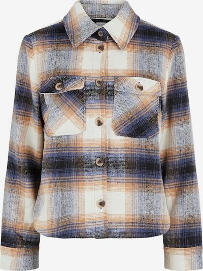 PIECES Övergångsjacka 'Phoebe' i beige / blå / marinblå / vit, Produktvy