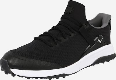 PUMA Спортни обувки 'Fusion Evo' в сиво / черно / бяло, Преглед на продукта