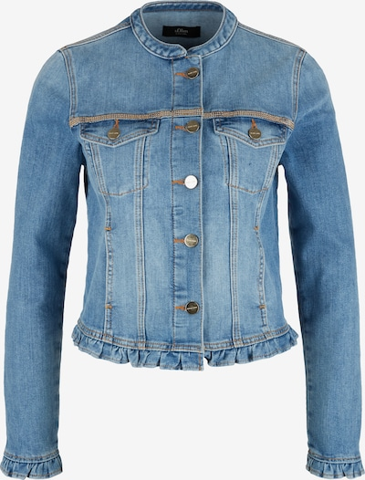 s.Oliver BLACK LABEL Jacke in blue denim, Produktansicht