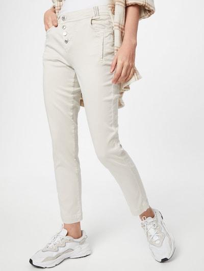 STREET ONE Kalhoty - béžová, Model/ka