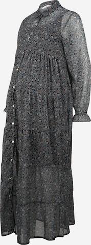 BELLYBUTTON Shirt Dress in Grey