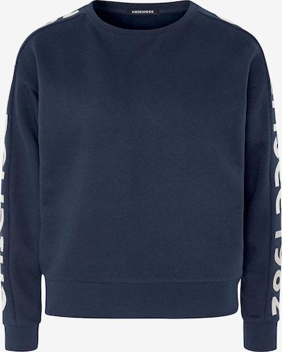 CHIEMSEE Camiseta deportiva en azul oscuro / blanco, Vista del producto