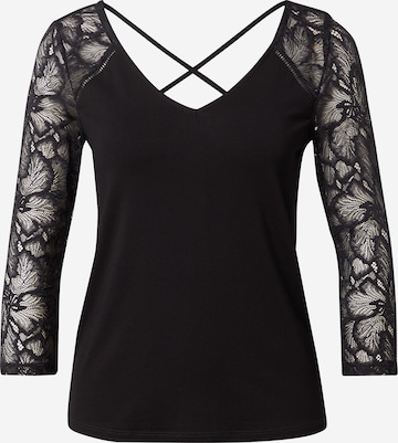 T-shirt 'Juliena' ABOUT YOU en noir