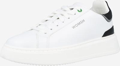 WOMSH Zemie brīvā laika apavi, krāsa - melns / Sudrabs / balts, Preces skats