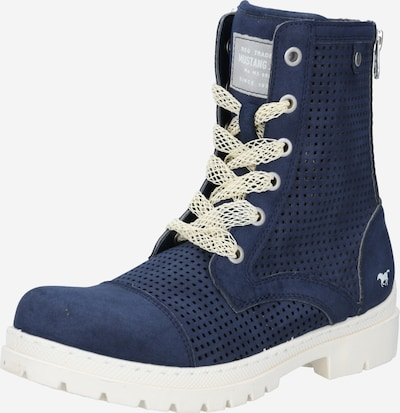 MUSTANG Boots en bleu foncé, Vue avec produit