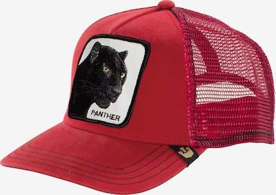 GOORIN Bros. Pet 'Black Panther' in de kleur Rood / Zwart / Wit, Productweergave