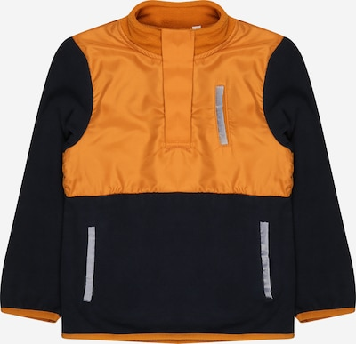NAME IT Pullover 'LUTER' in saphir / orange, Produktansicht
