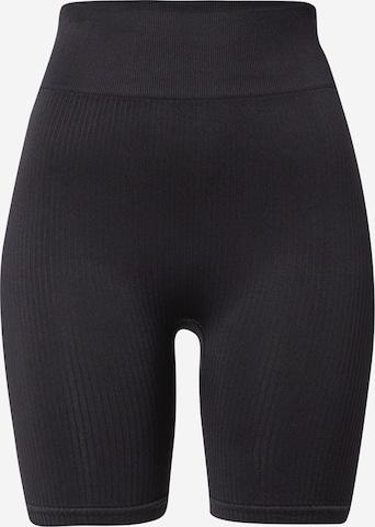 NU-IN ACTIVE - Pantalón deportivo 'Cycling' en negro