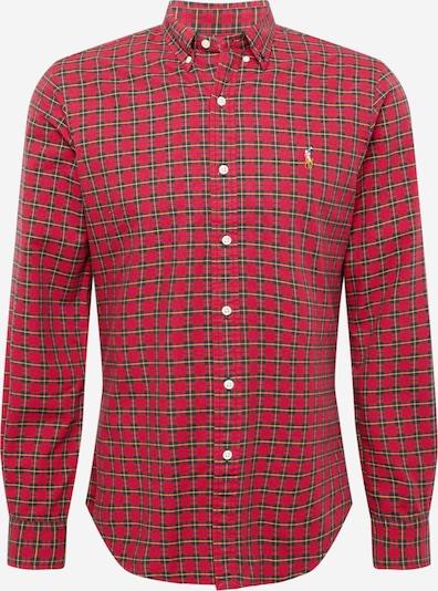 Polo Ralph Lauren Hemd in gelb / rot / schwarz, Produktansicht