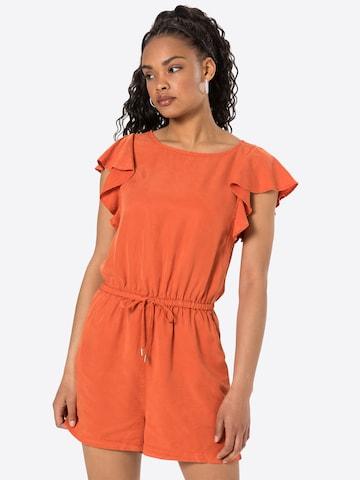 VILA Jumpsuit 'VIISABEL' in Oranje