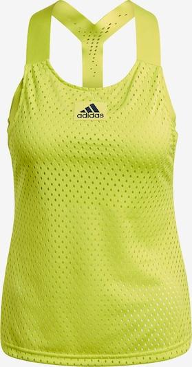 ADIDAS PERFORMANCE Sporttop in de kleur Geel, Productweergave