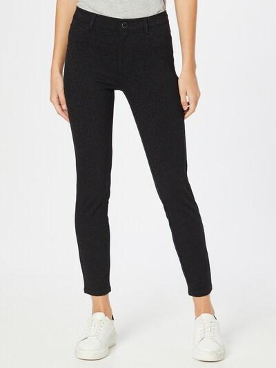 Pantaloni 'SEXY CURVE' GUESS pe gri închis / negru, Vizualizare model