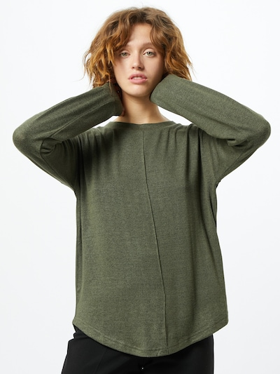 b.young Pullover 'Tanna' in oliv, Modelansicht