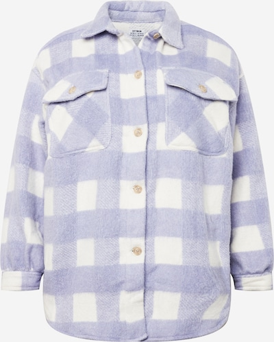 Cotton On Curve Between-Season Jacket in Lavender / White, Item view