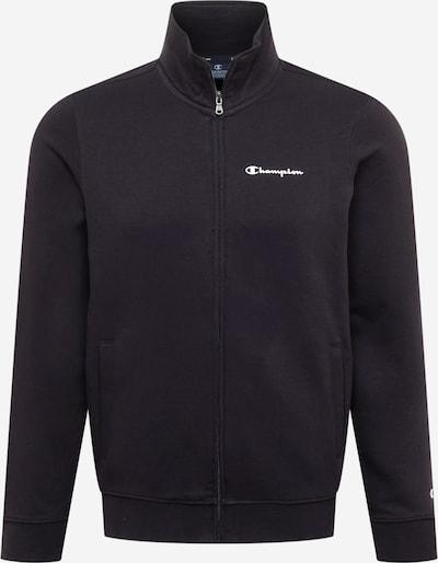 Champion Authentic Athletic Apparel Sweatjacke in schwarz, Produktansicht