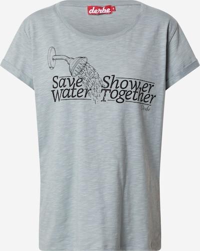 Derbe Тениска в сив меланж / черно, Преглед на продукта