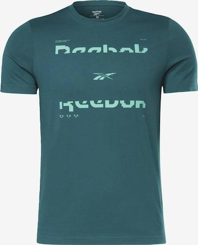 Reebok Sport Functioneel shirt in de kleur Groen / Petrol, Productweergave