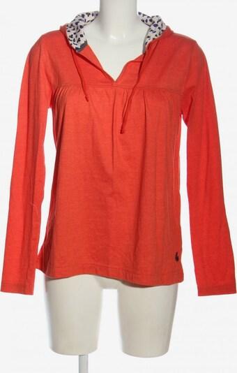 Review Kapuzensweatshirt in M in rot, Produktansicht