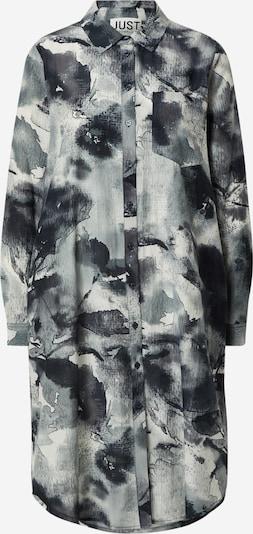JUST FEMALE Blousejurk 'Spirit' in de kleur Grijs / Zwart / Wit, Productweergave