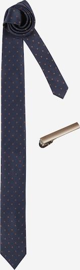 JACK & JONES Cravate 'LUCAS' en bleu marine, Vue avec produit