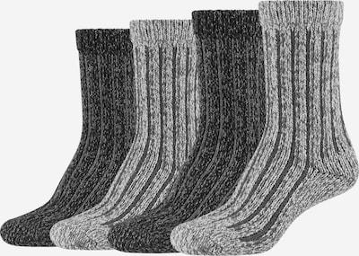 s.Oliver Socken 'Hygge' in grau / anthrazit, Produktansicht