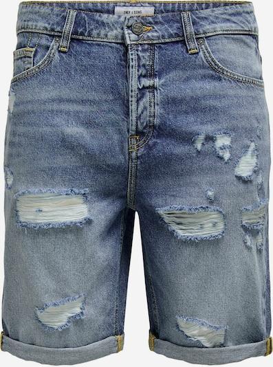 Only & Sons Jeans 'Avi Life' in de kleur Blauw denim: Vooraanzicht