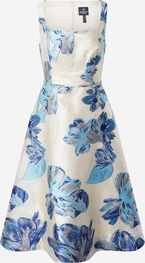 Adrianna Papell Robe en bleu / bleu clair / argent / blanc naturel, Vue avec produit