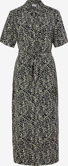 s.Oliver BLACK LABEL Kleid in gelb / schwarz / weiß, Produktansicht