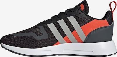 ADIDAS ORIGINALS Baskets basses 'Multix' en gris foncé / orange / noir, Vue avec produit
