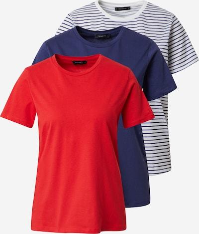 Trendyol T-Shirt in navy / rot / weiß, Produktansicht