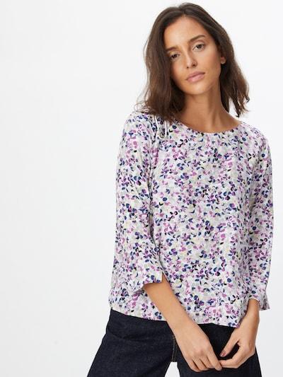Bluză TOM TAILOR pe albastru deschis / mov închis / culori mixte / alb, Vizualizare model