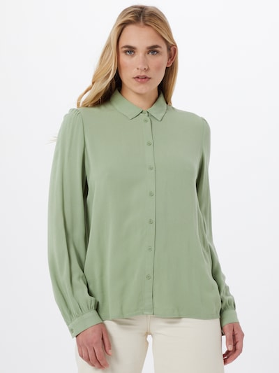 EDC BY ESPRIT Bluse in mint, Modelansicht