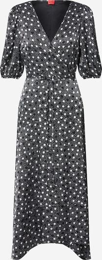 HUGO Kleid 'Kesika' in grau / weiß, Produktansicht