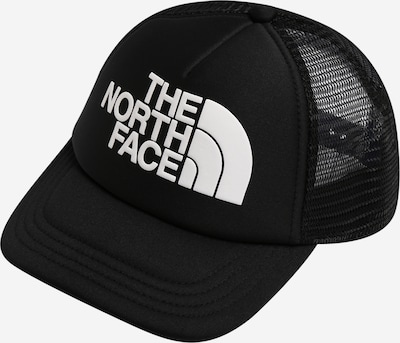 THE NORTH FACE Sportmuts 'Trucker' in de kleur Zwart / Wit, Productweergave