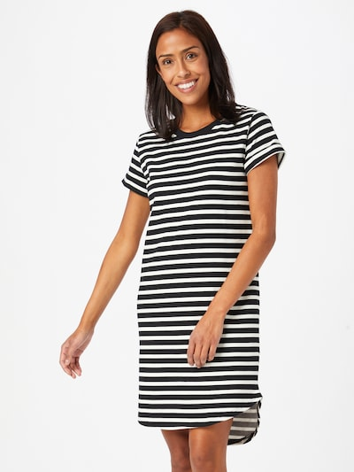 JDY Letné šaty 'IVY' - čierna / biela, Model/-ka