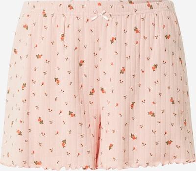 AERIE Pyjamahose in grün / rosa / rot, Produktansicht