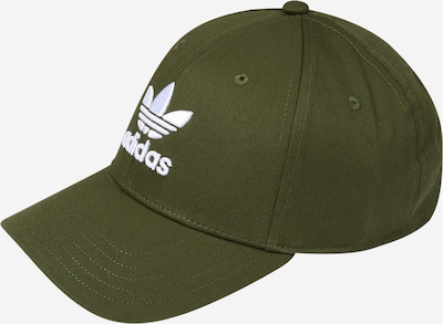 ADIDAS ORIGINALS Lippalakki värissä vihreä / valkoinen, Tuotenäkymä